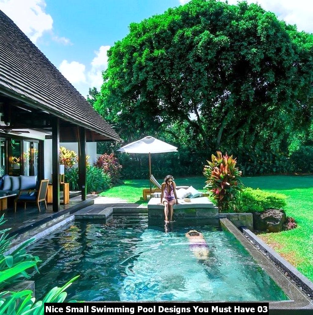 Nice Small Swimming Pool Designs You Must Have 03