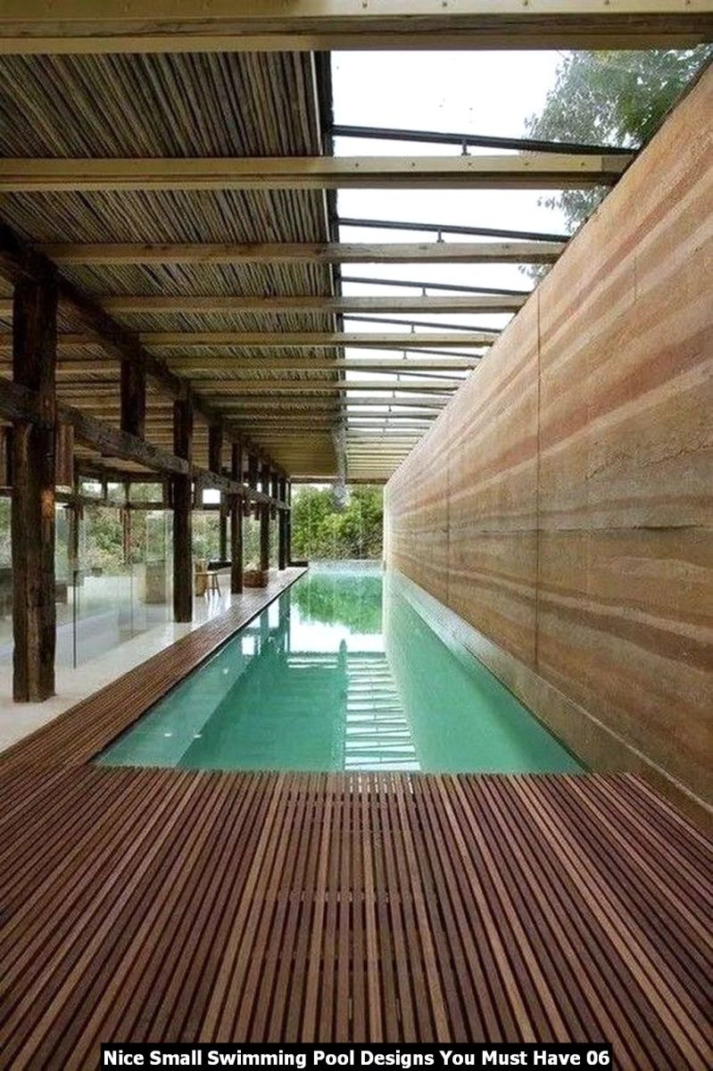 Nice Small Swimming Pool Designs You Must Have 06