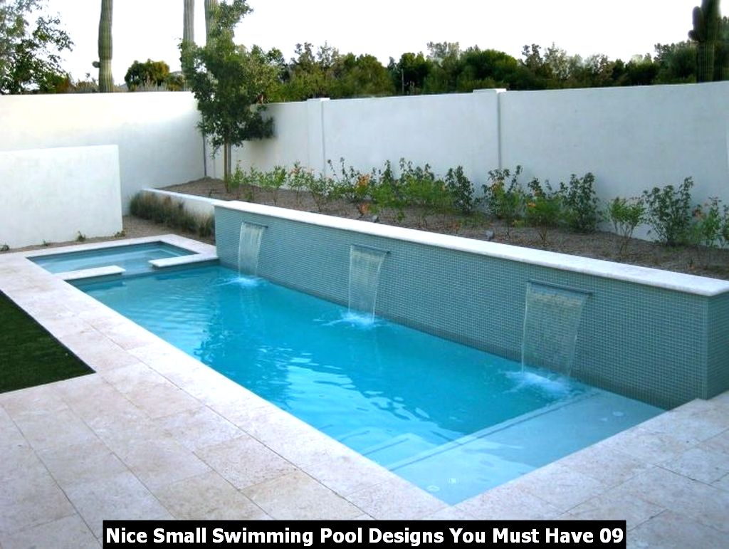 Nice Small Swimming Pool Designs You Must Have 09