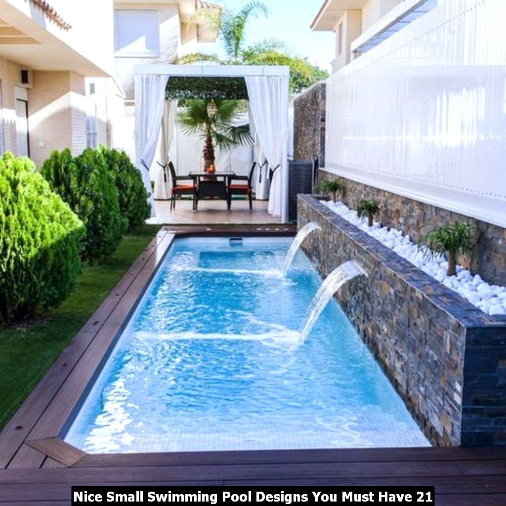 Nice Small Swimming Pool Designs You Must Have 21
