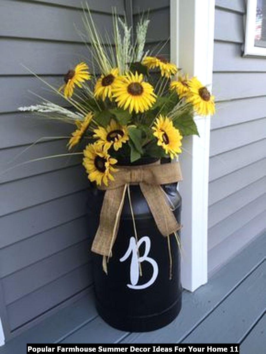 Popular Farmhouse Summer Decor Ideas For Your Home 11