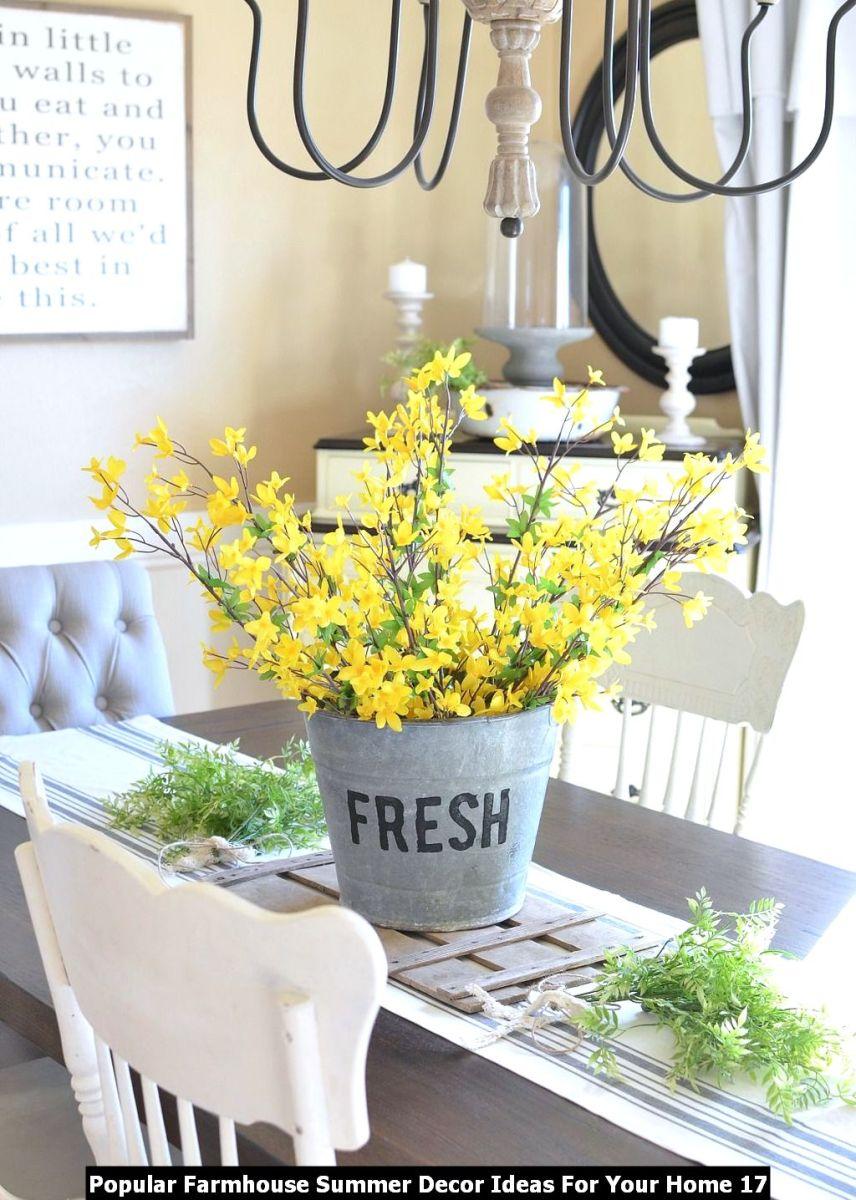 Popular Farmhouse Summer Decor Ideas For Your Home 17