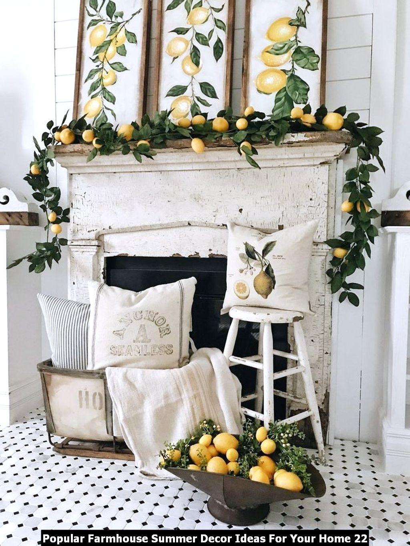 Popular Farmhouse Summer Decor Ideas For Your Home 22