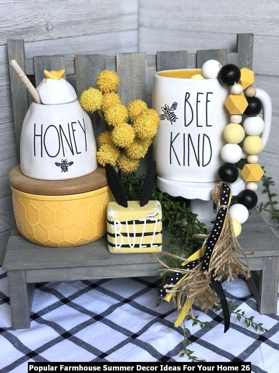 Popular Farmhouse Summer Decor Ideas For Your Home 26
