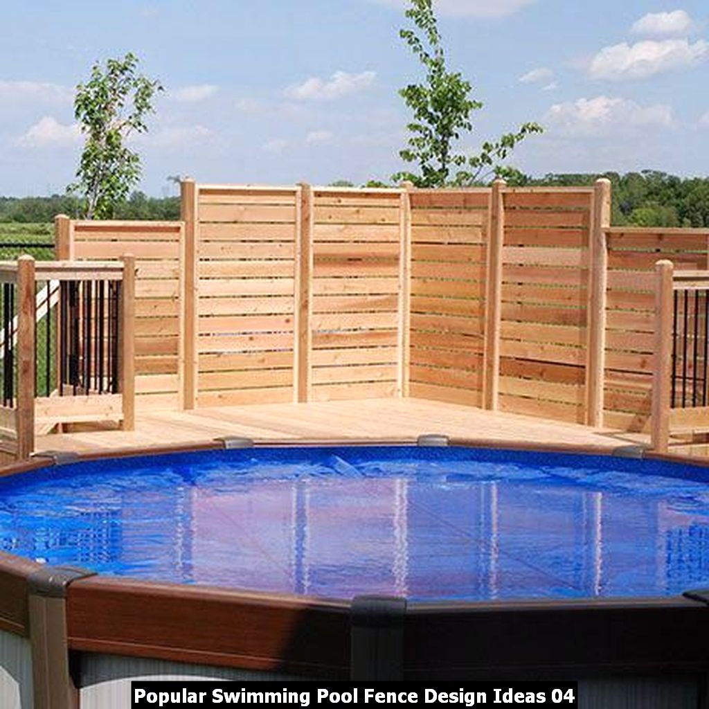 Popular Swimming Pool Fence Design Ideas 04