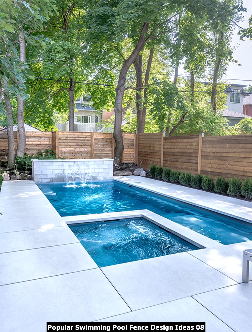 Popular Swimming Pool Fence Design Ideas 08