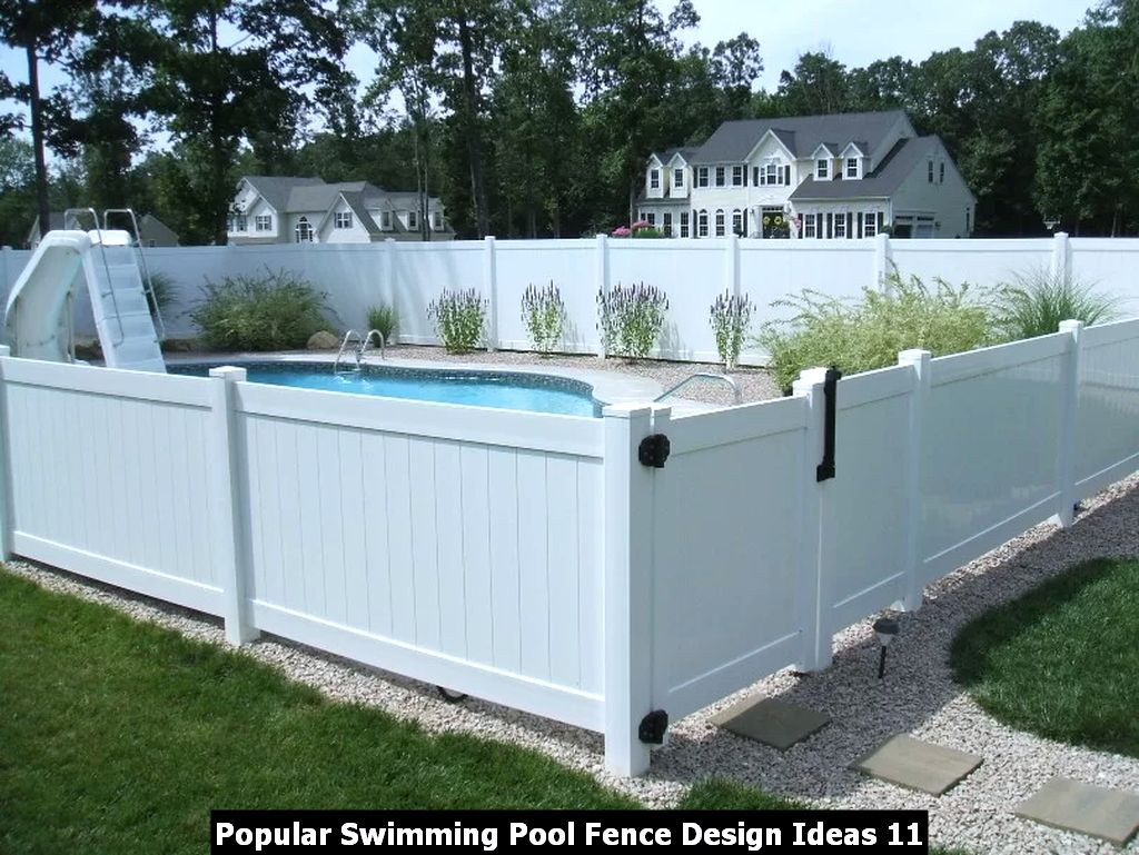 Popular Swimming Pool Fence Design Ideas 11