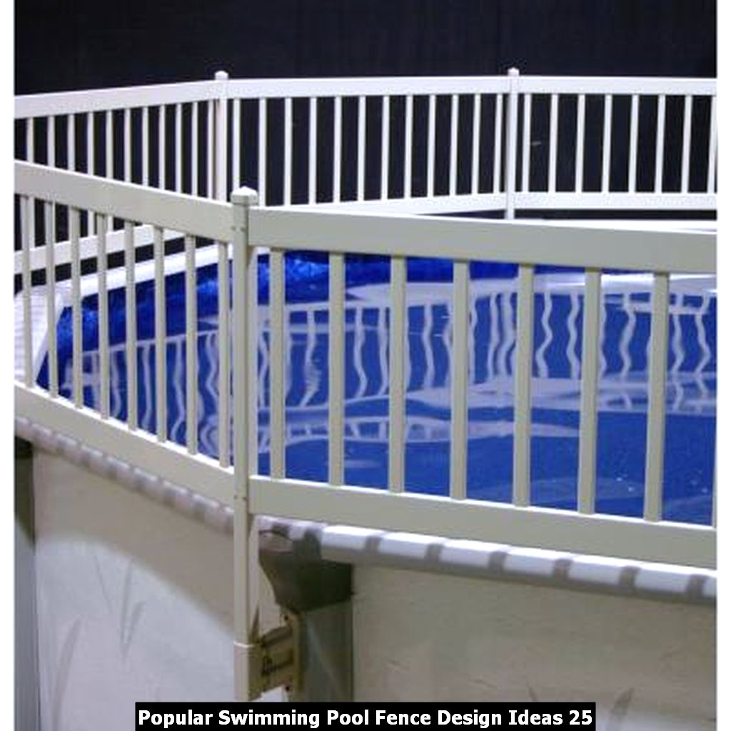 Popular Swimming Pool Fence Design Ideas 25