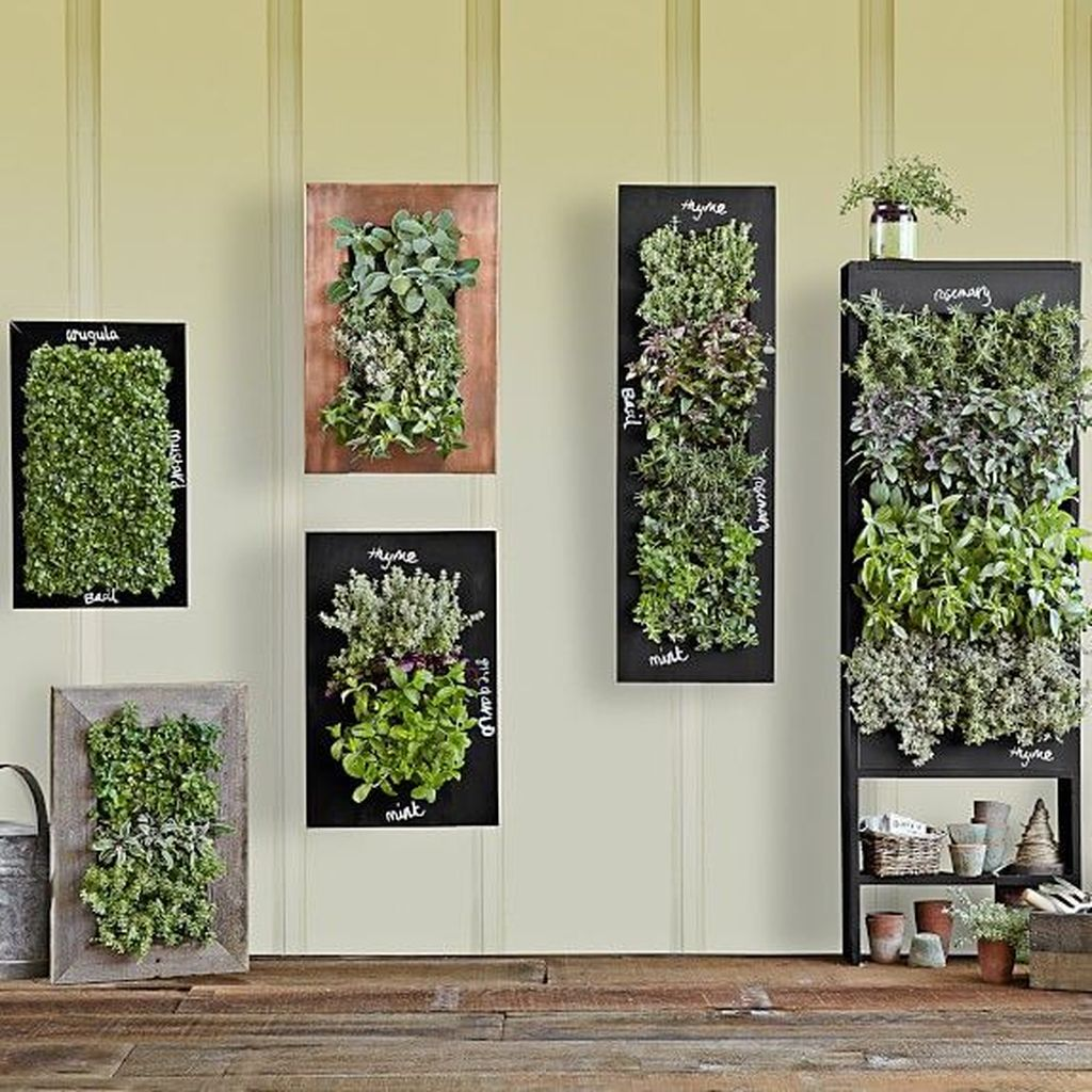 Popular Vertical Garden Wall For Outdoors Decor 14