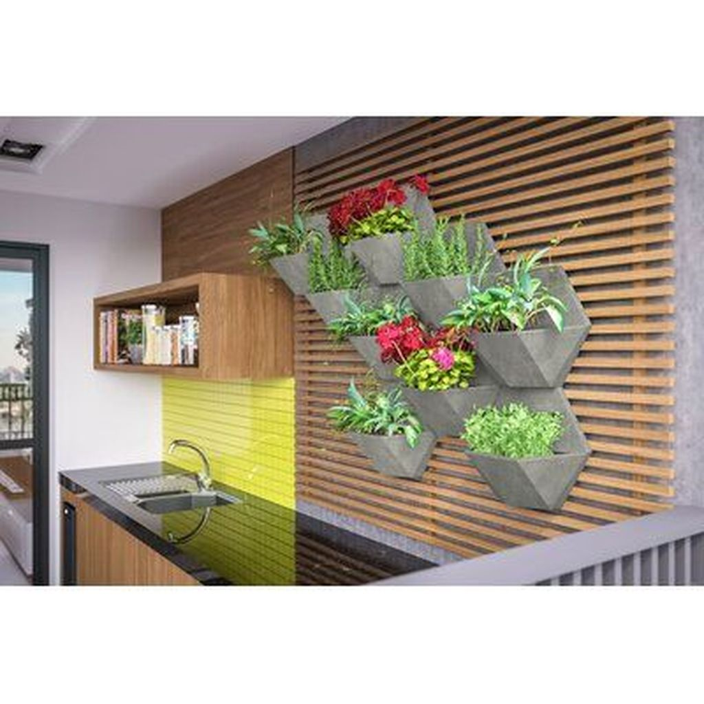 Popular Vertical Garden Wall For Outdoors Decor 15