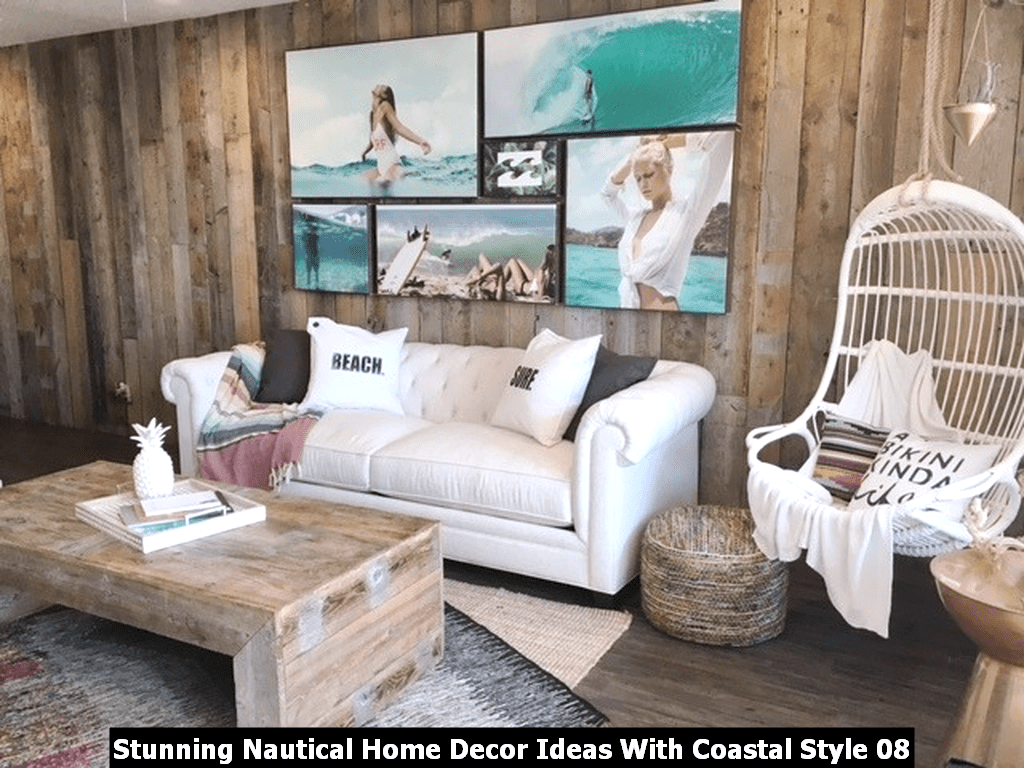 Stunning Nautical Home Decor Ideas With Coastal Style 08