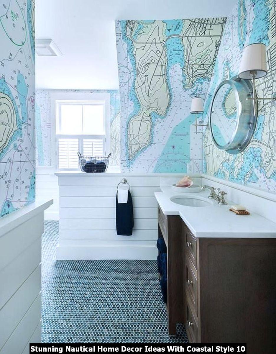 Stunning Nautical Home Decor Ideas With Coastal Style 10