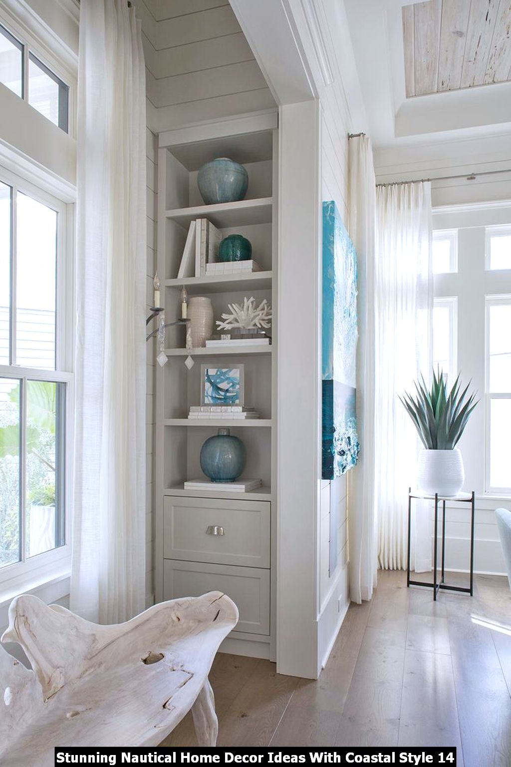 Stunning Nautical Home Decor Ideas With Coastal Style 14
