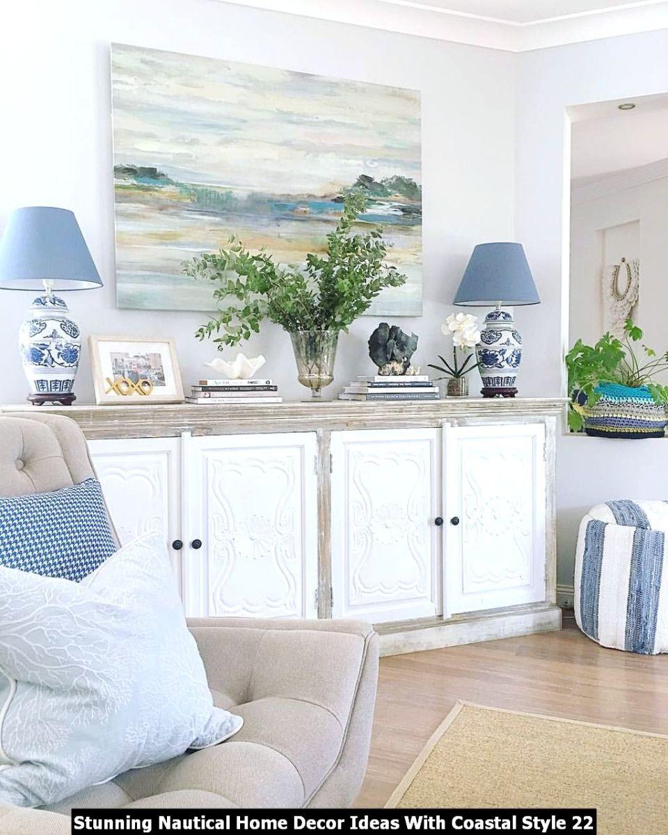 Stunning Nautical Home Decor Ideas With Coastal Style 22