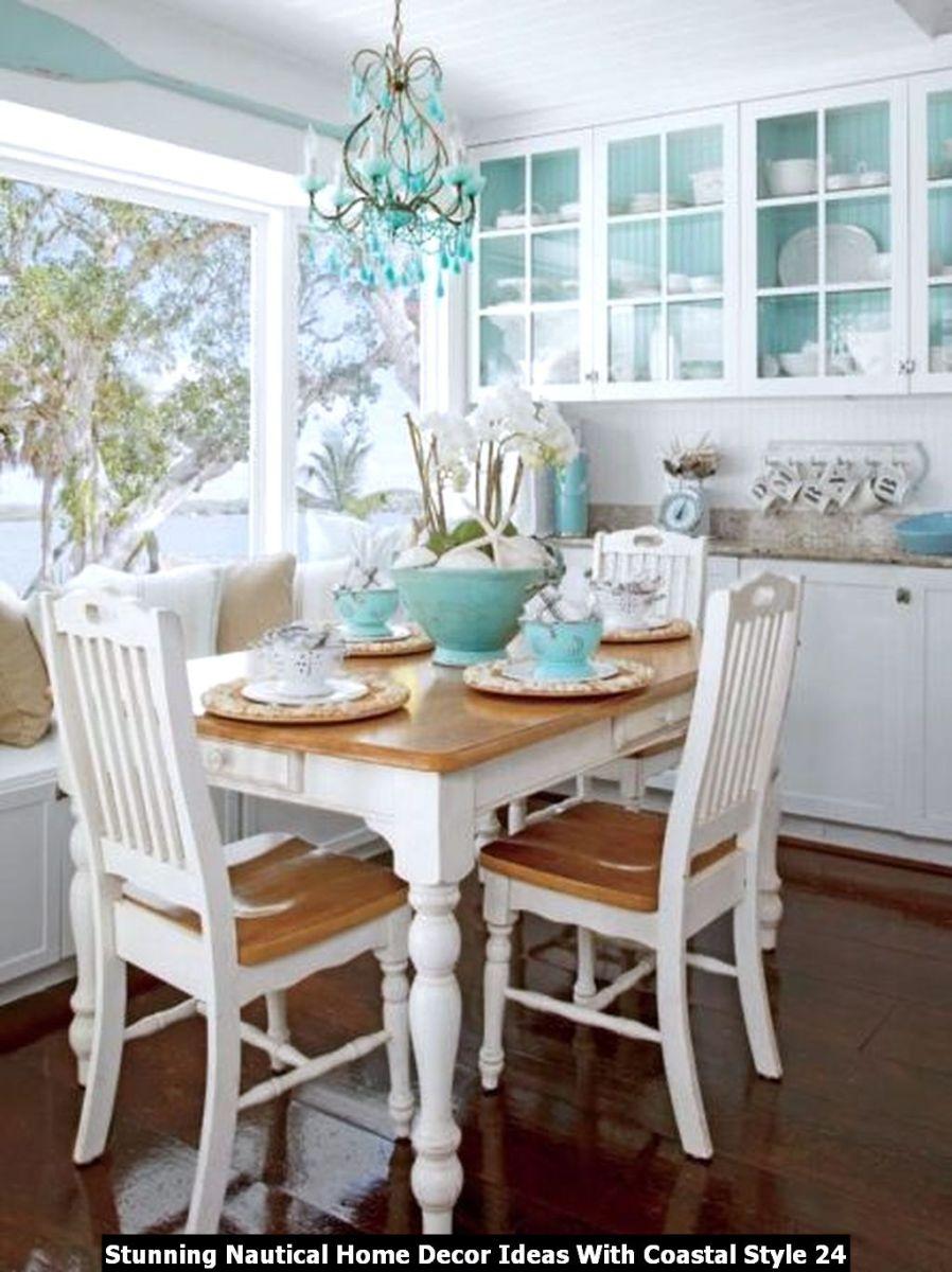 Stunning Nautical Home Decor Ideas With Coastal Style 24