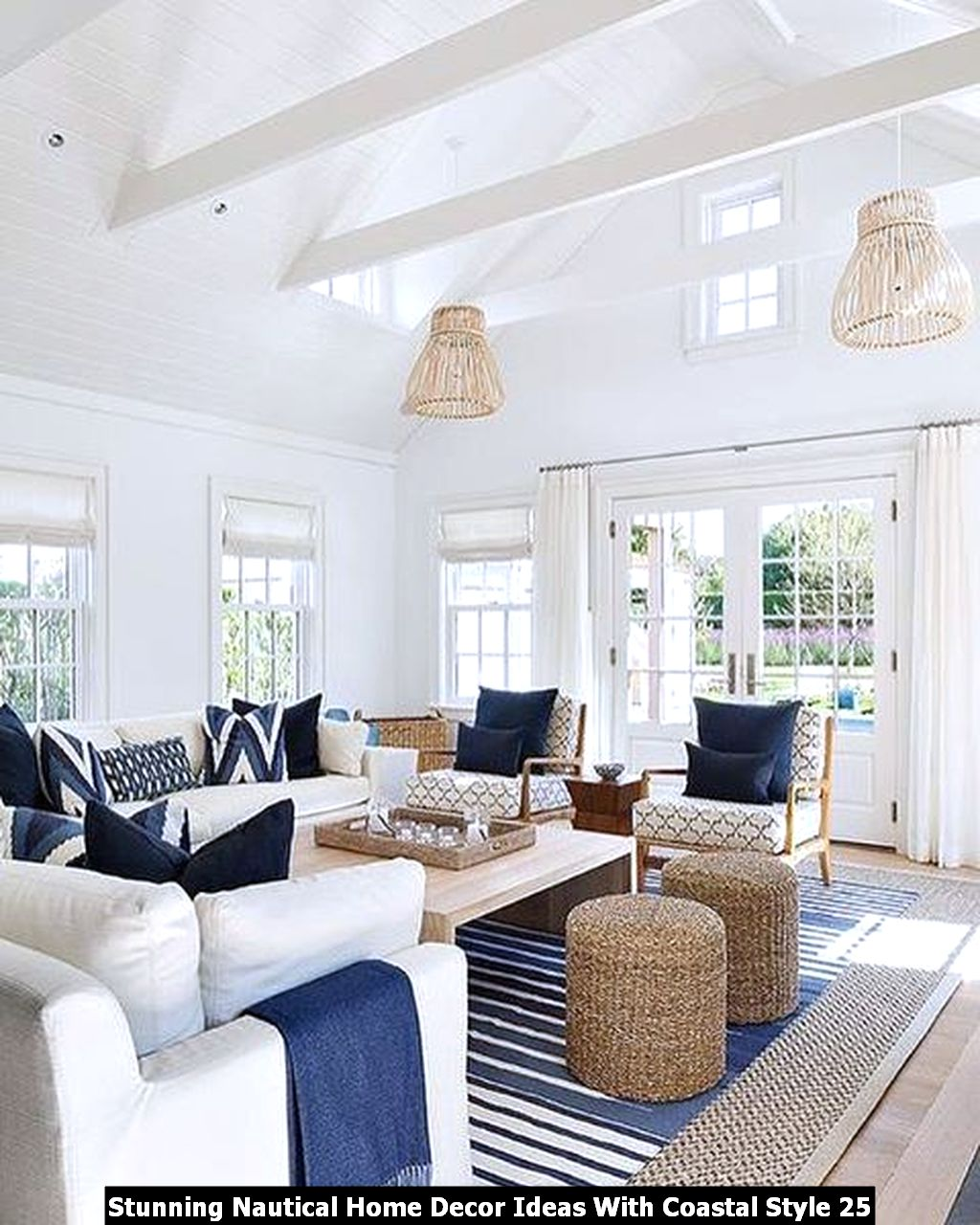 Stunning Nautical Home Decor Ideas With Coastal Style 25