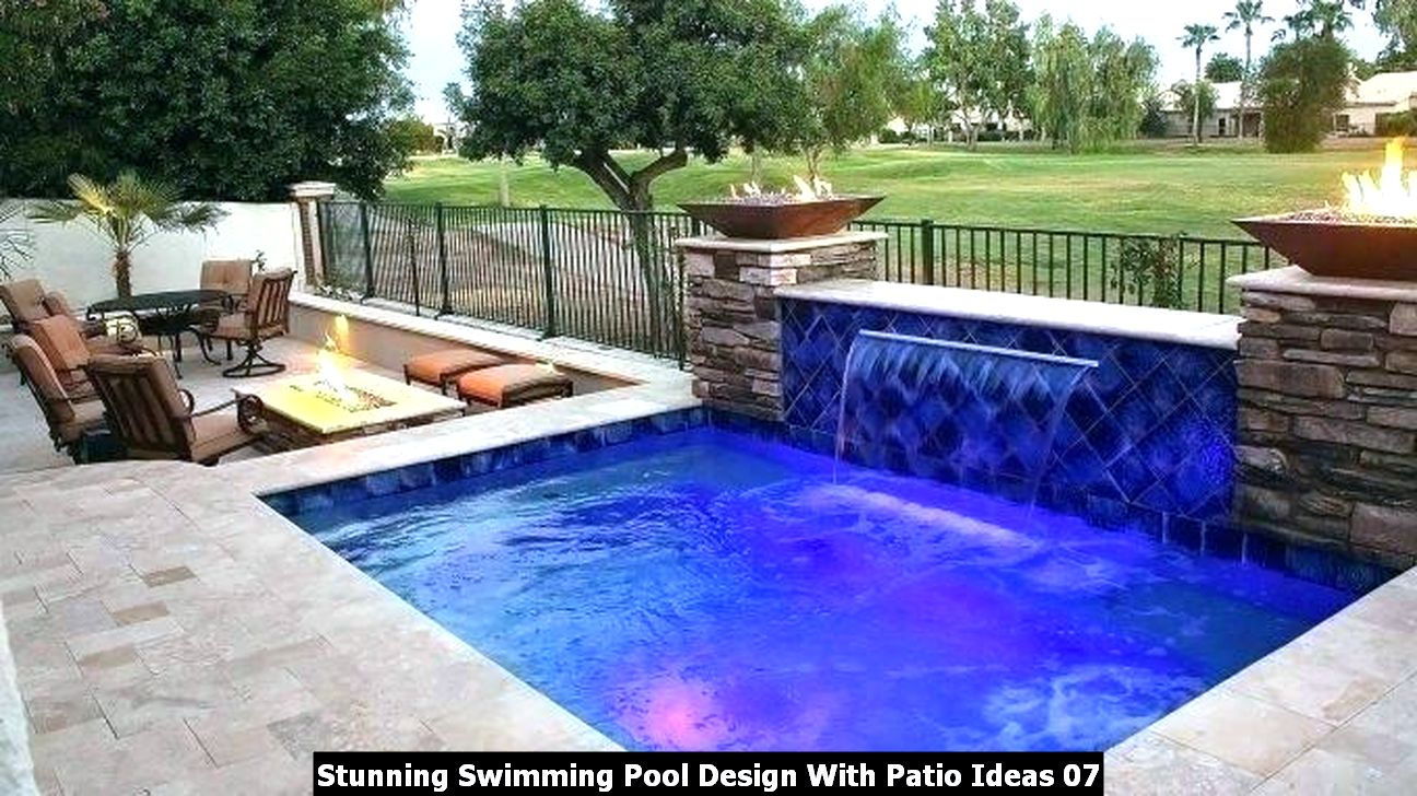 Stunning Swimming Pool Design With Patio Ideas 07
