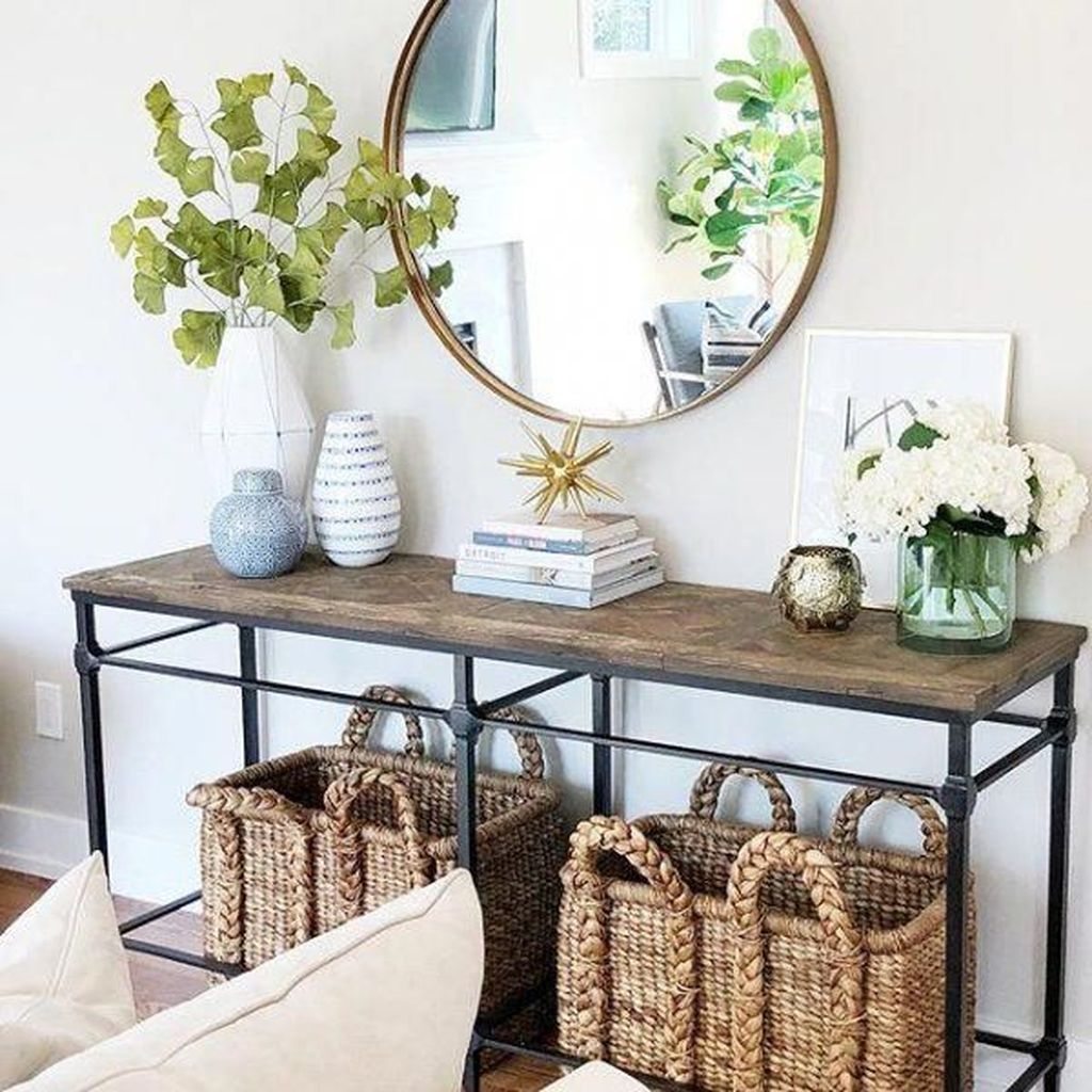 Stylish Console Table Design Ideas You Must Have 11