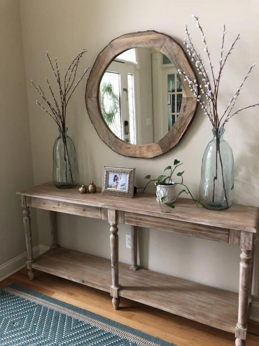 Stylish Console Table Design Ideas You Must Have 21