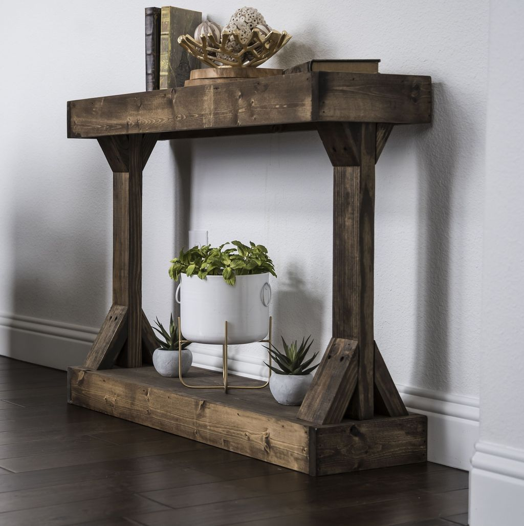Stylish Console Table Design Ideas You Must Have 23