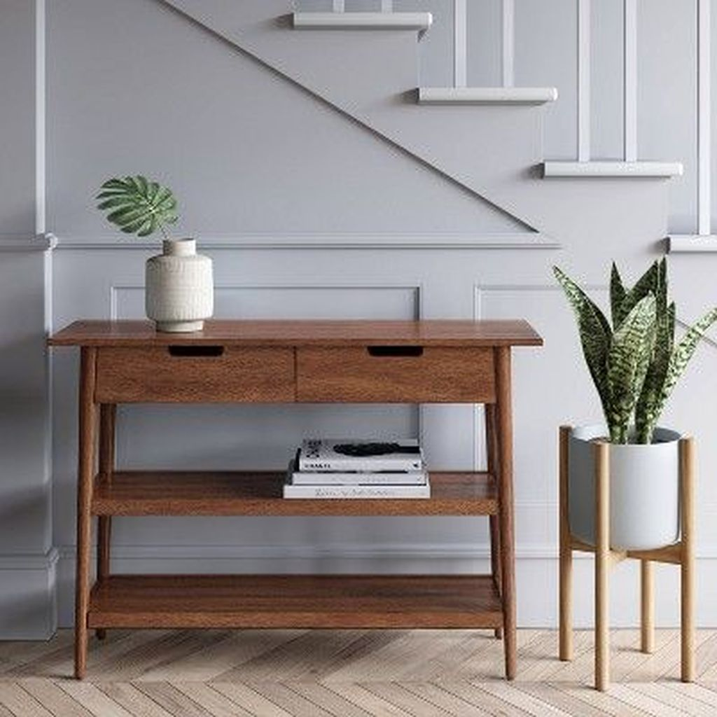 Stylish Console Table Design Ideas You Must Have 25