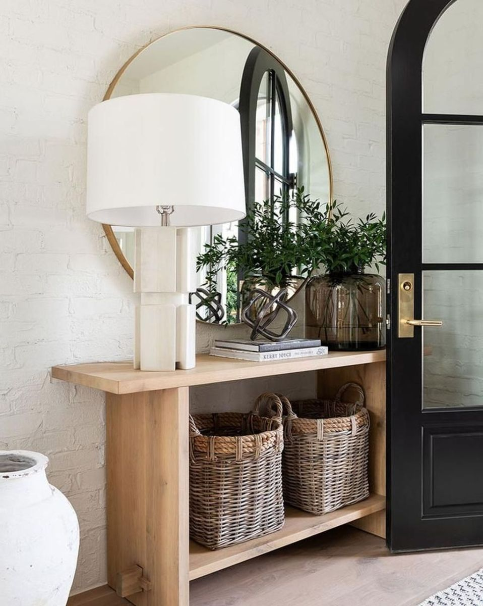 Stylish Console Table Design Ideas You Must Have 30