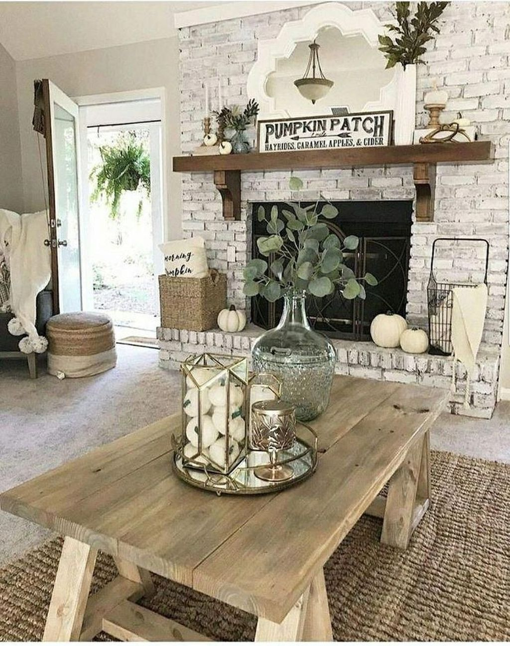 Stylish Rustic Living Room Decor Ideas 12