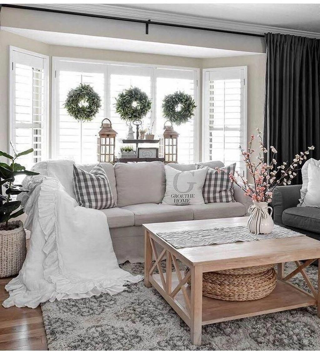 Stylish Rustic Living Room Decor Ideas 27