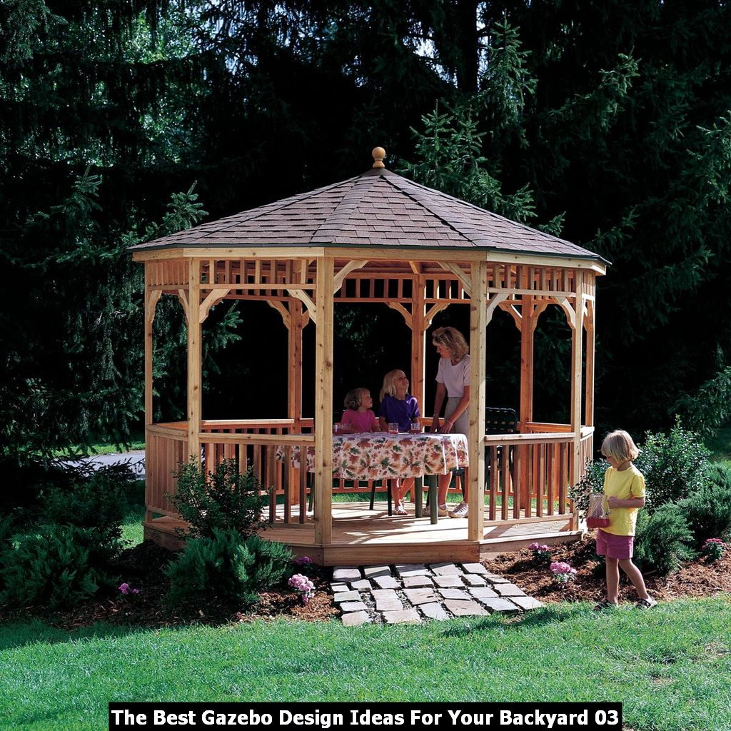 The Best Gazebo Design Ideas For Your Backyard 03