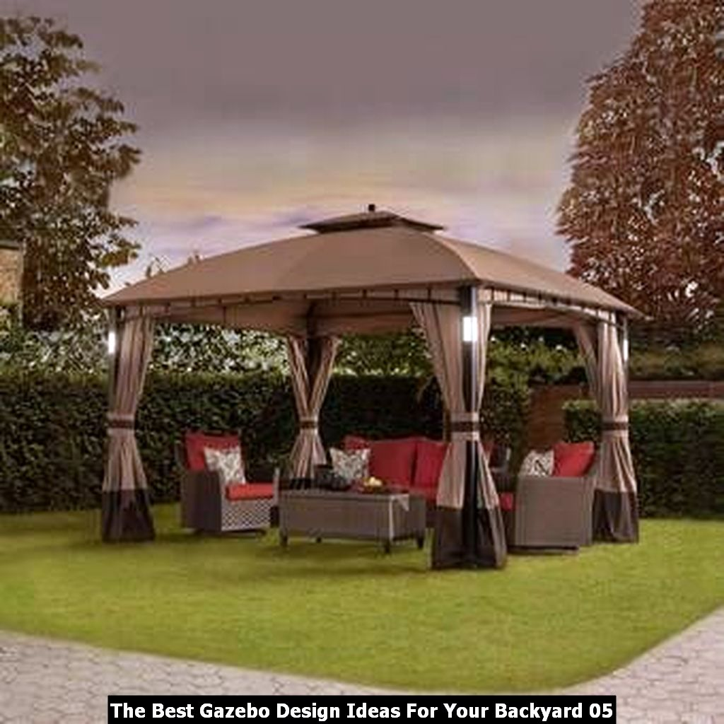 The Best Gazebo Design Ideas For Your Backyard 05