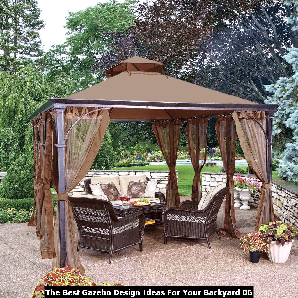 The Best Gazebo Design Ideas For Your Backyard 06
