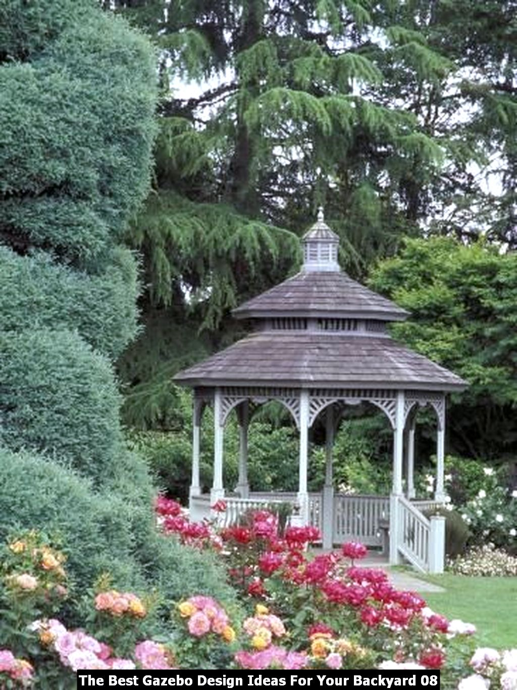 The Best Gazebo Design Ideas For Your Backyard 08