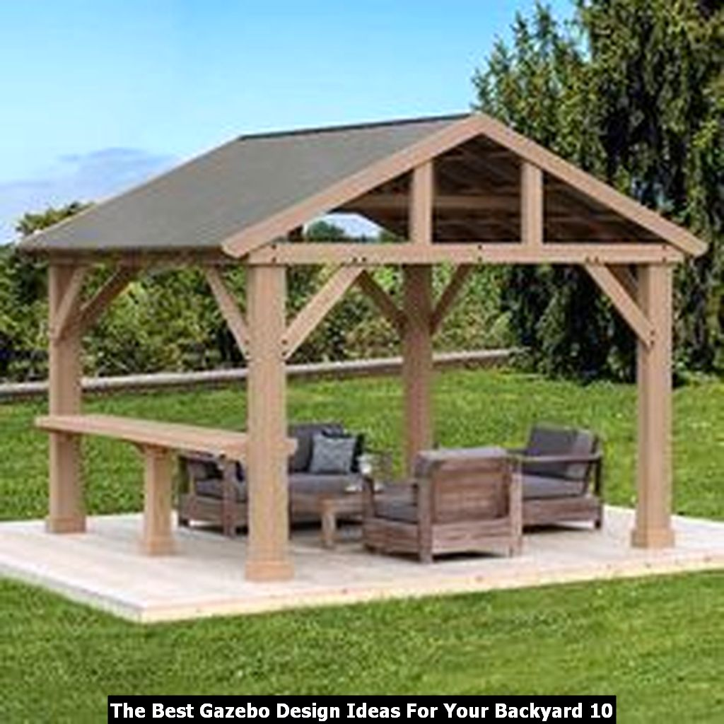 The Best Gazebo Design Ideas For Your Backyard 10