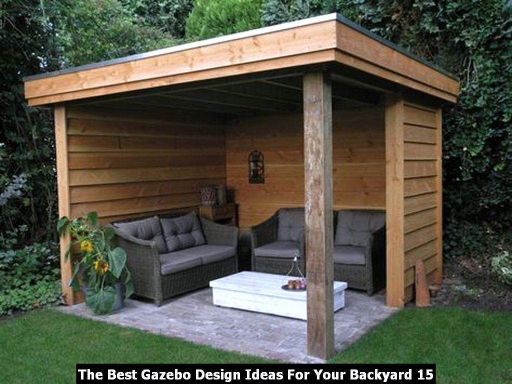 The Best Gazebo Design Ideas For Your Backyard 15