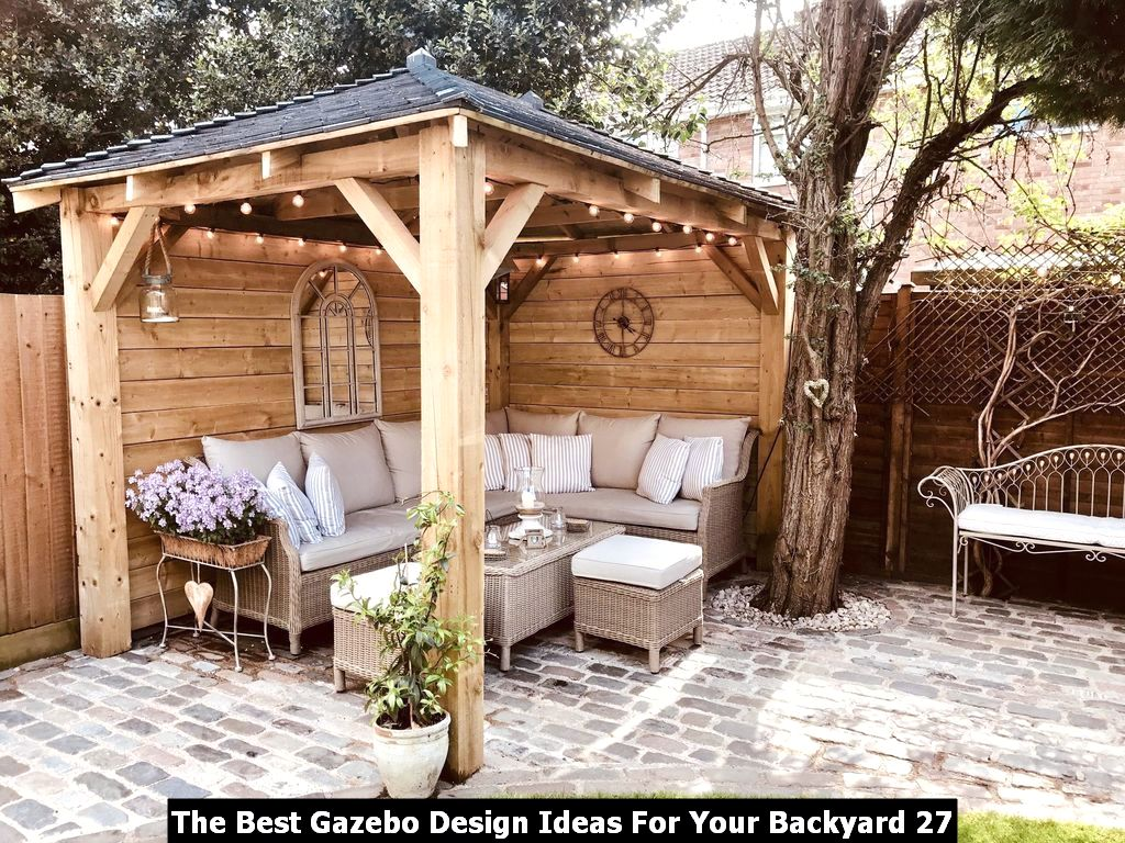 The Best Gazebo Design Ideas For Your Backyard 27