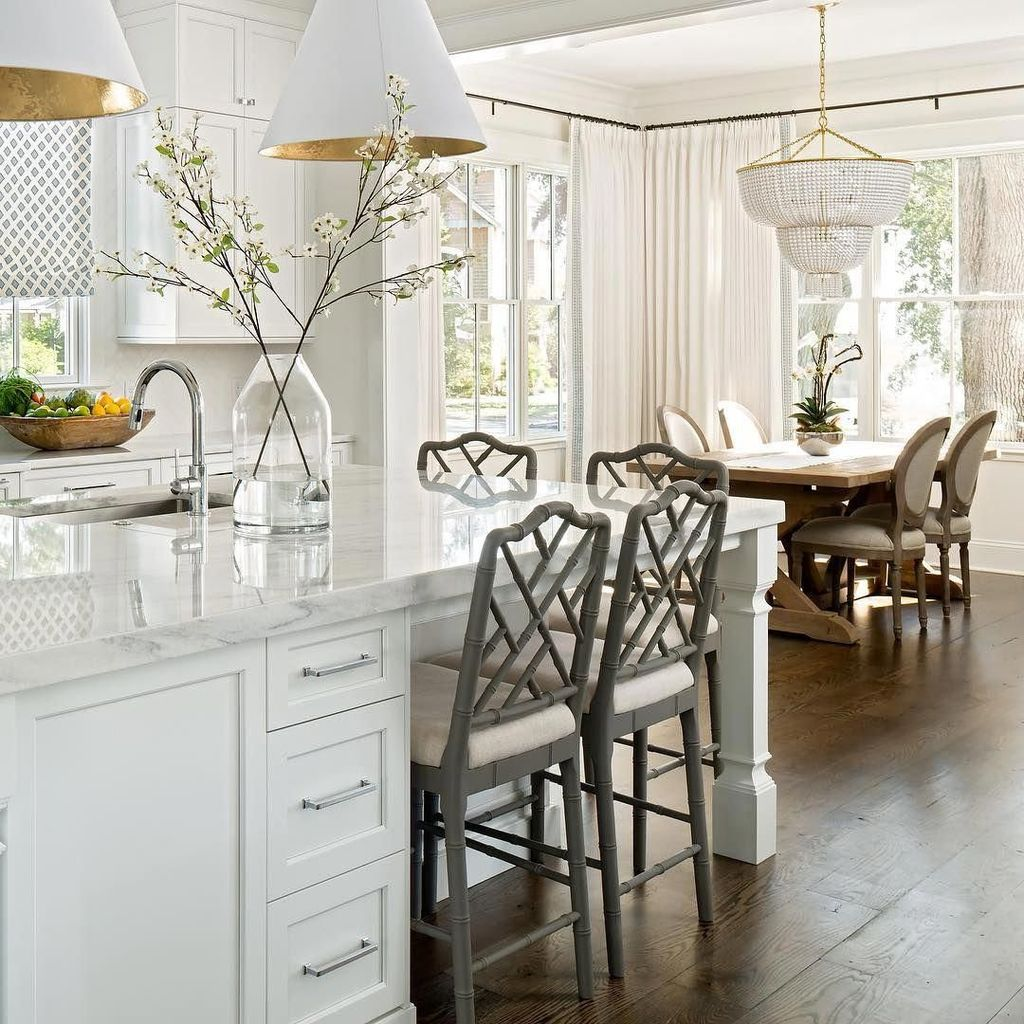 The Best Open Dining Room And Kitchen Design Ideas 30