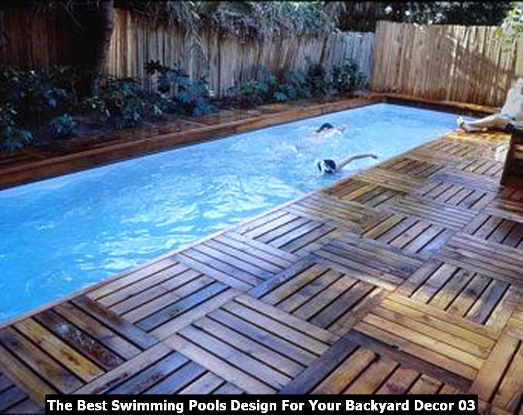 The Best Swimming Pools Design For Your Backyard Decor 03