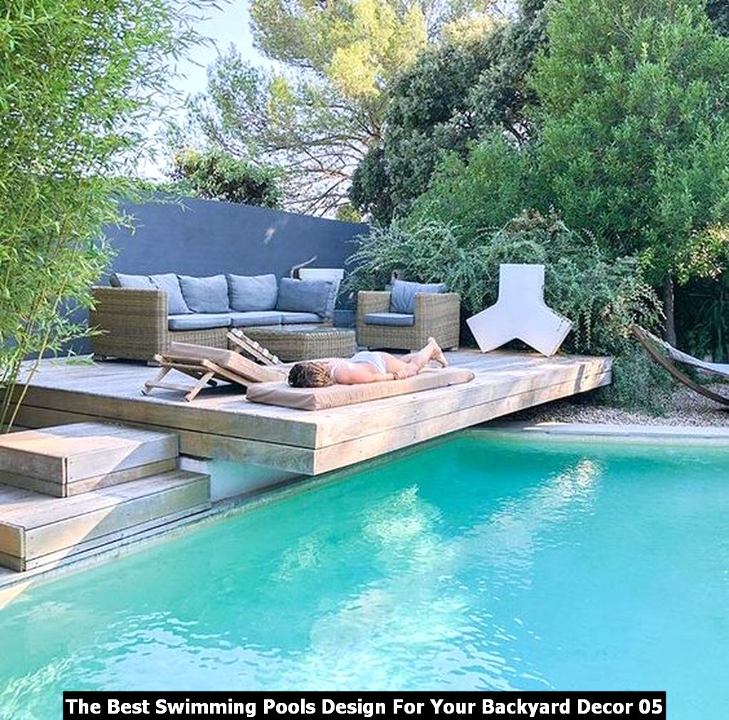 The Best Swimming Pools Design For Your Backyard Decor 05