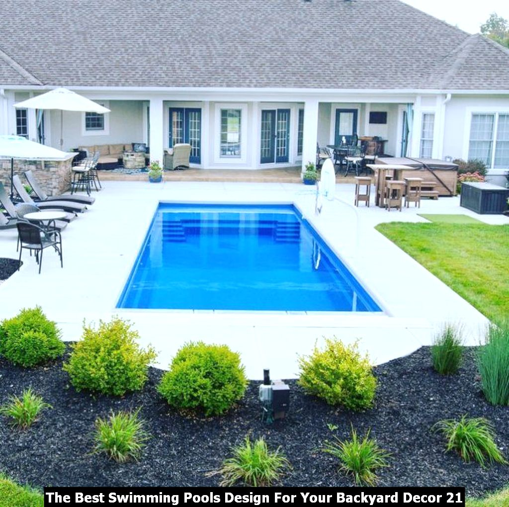 The Best Swimming Pools Design For Your Backyard Decor 21