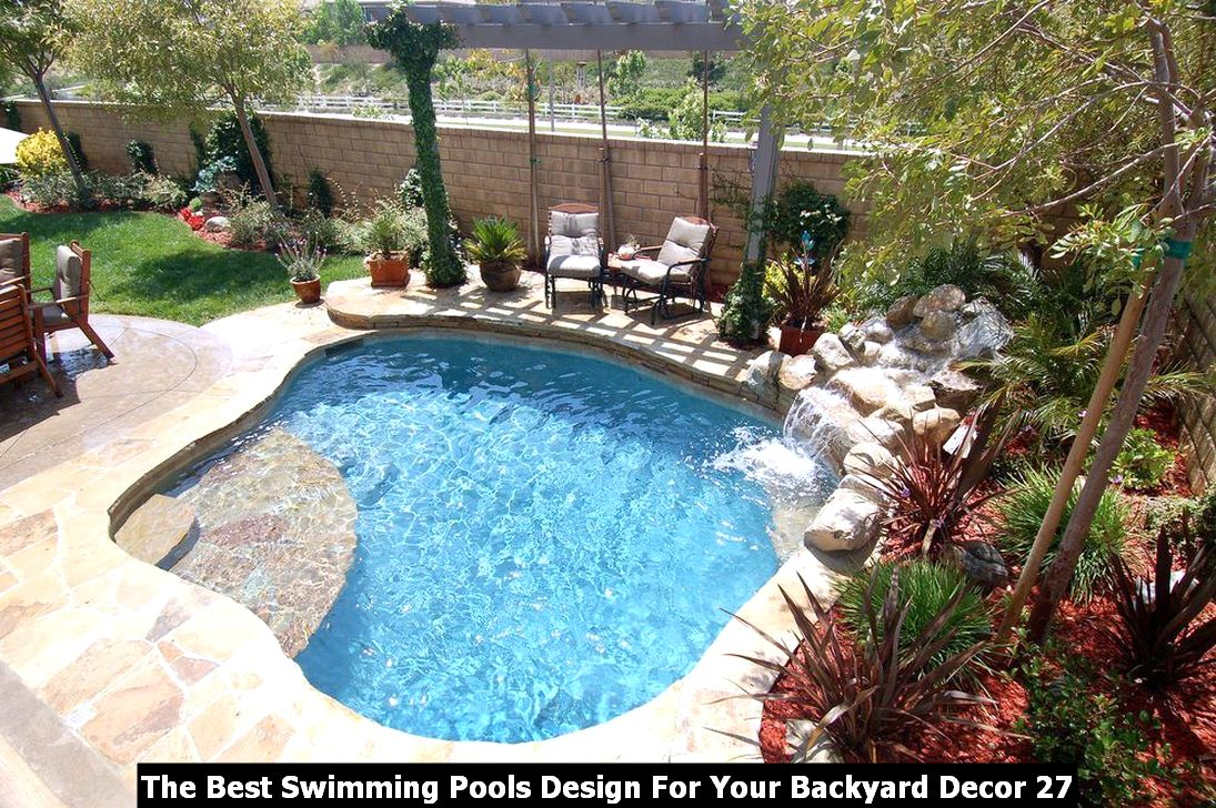 The Best Swimming Pools Design For Your Backyard Decor 27