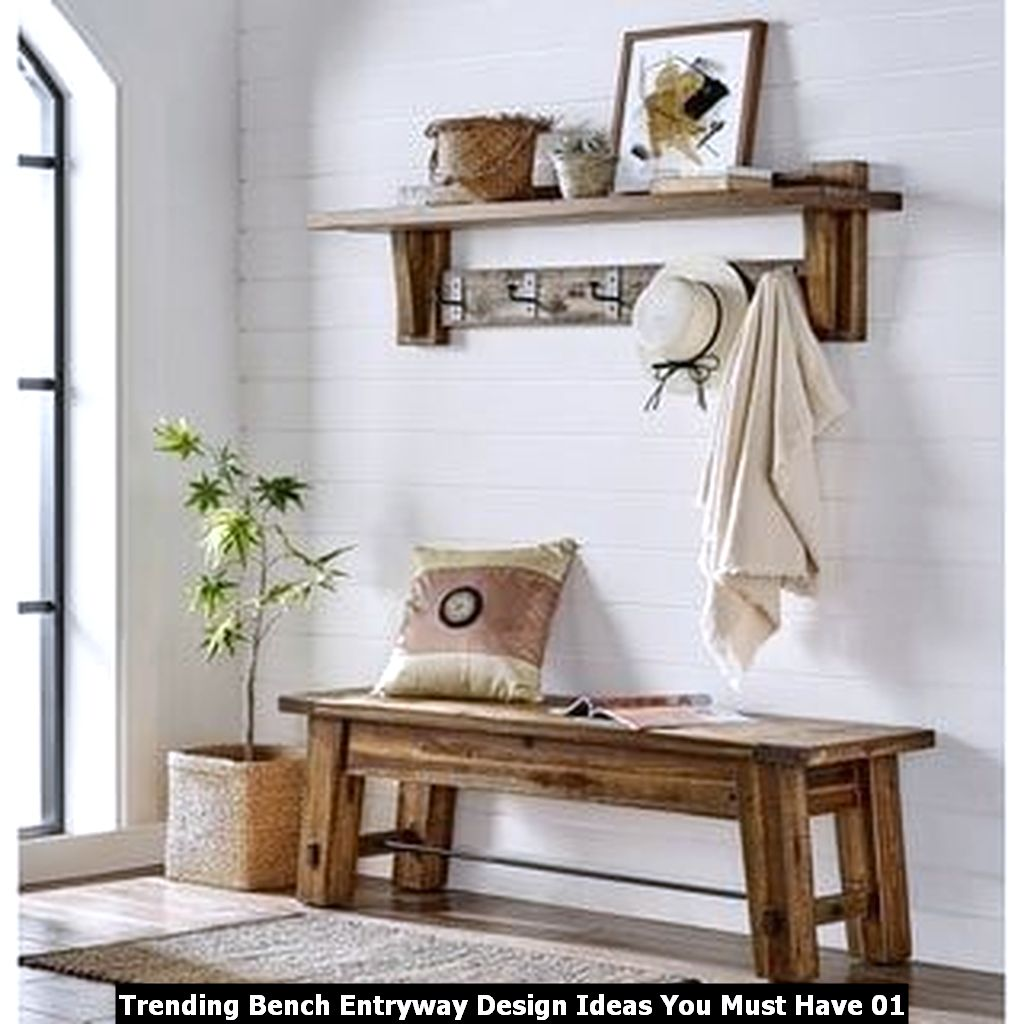 Trending Bench Entryway Design Ideas You Must Have 01
