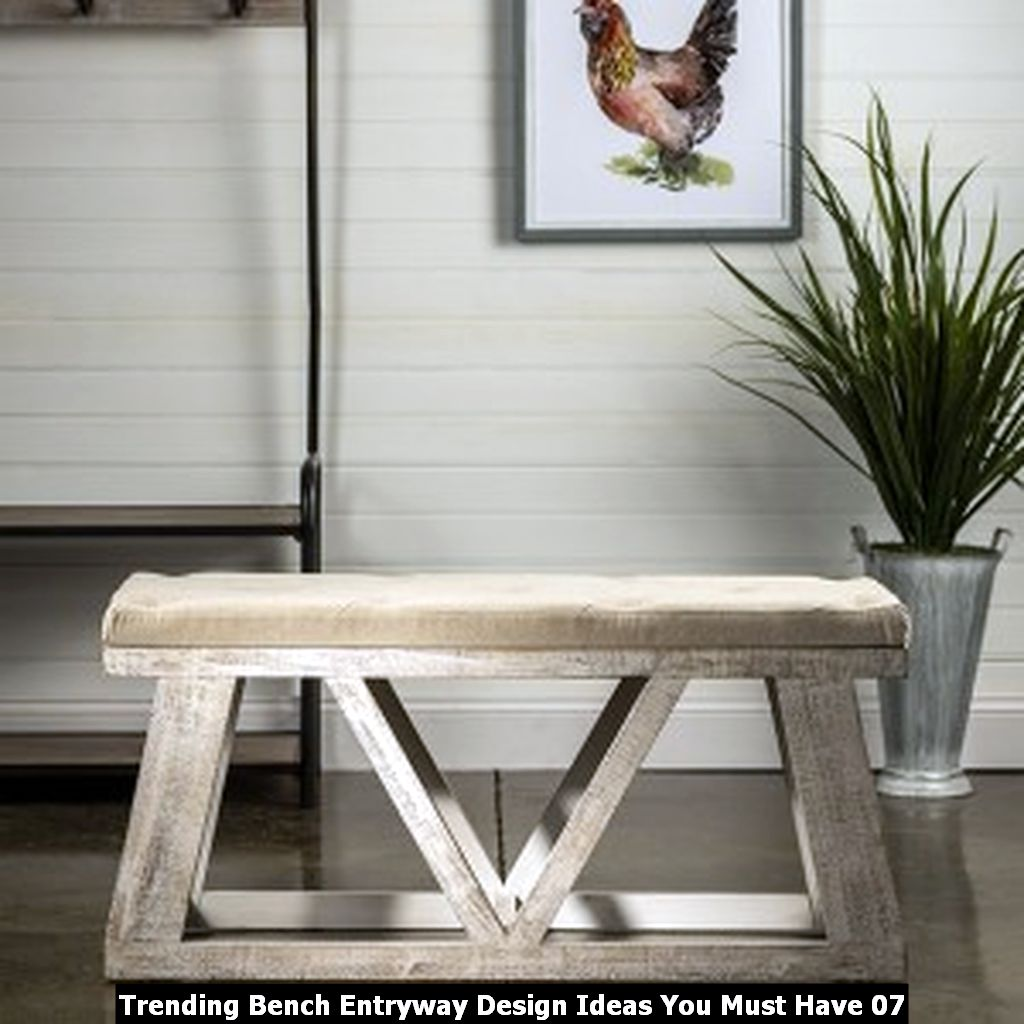 Trending Bench Entryway Design Ideas You Must Have 07