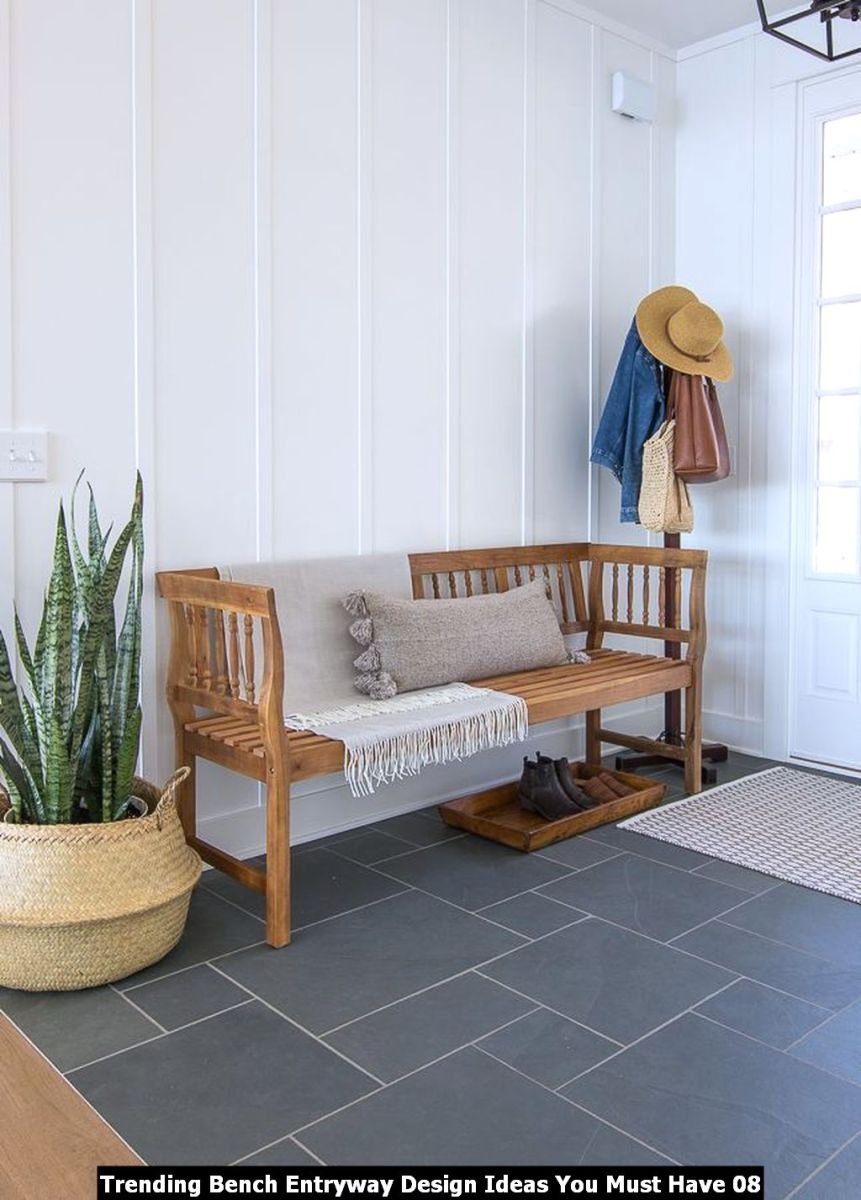 Trending Bench Entryway Design Ideas You Must Have 08