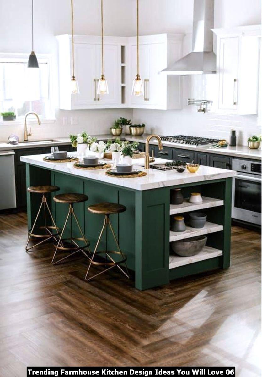 Trending Farmhouse Kitchen Design Ideas You Will Love 06