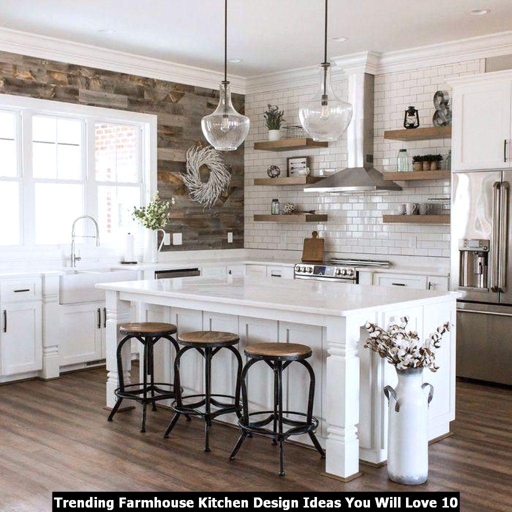 Trending Farmhouse Kitchen Design Ideas You Will Love 10