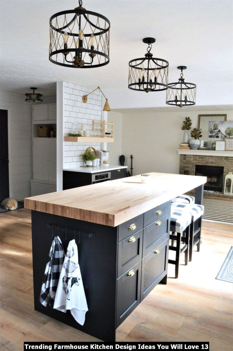 Trending Farmhouse Kitchen Design Ideas You Will Love 13