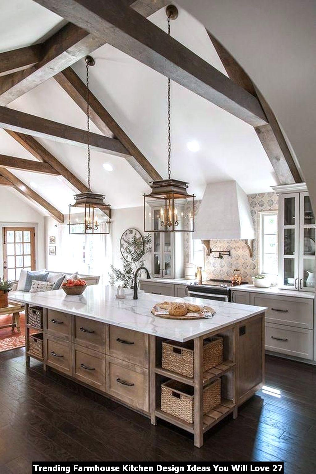 Trending Farmhouse Kitchen Design Ideas You Will Love 27
