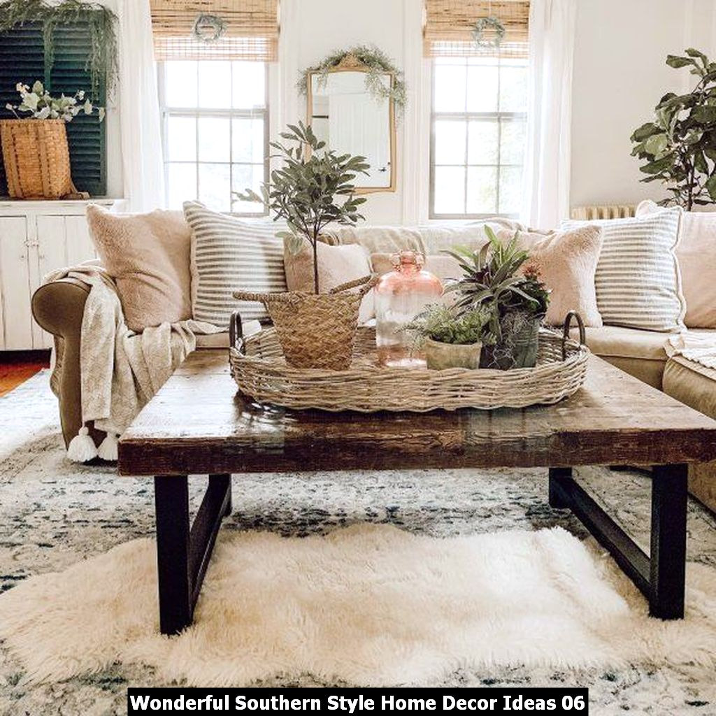 Wonderful Southern Style Home Decor Ideas 06
