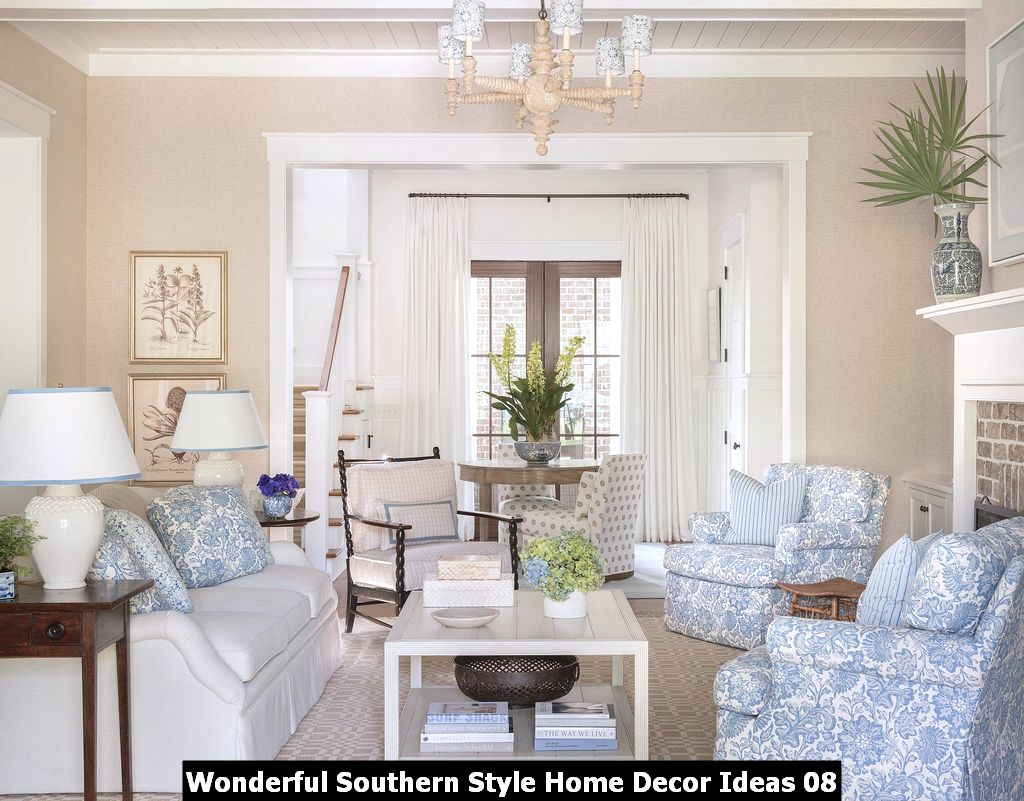 Wonderful Southern Style Home Decor Ideas 08