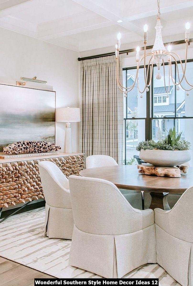 Wonderful Southern Style Home Decor Ideas 12